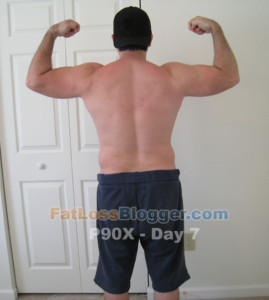 P90X Results Day 7 Photos And Measurements