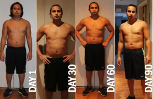 P90X Results Day 90 Becoming Bond Essential Style For