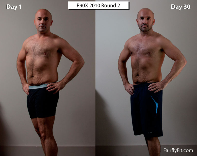 P90X Round 2 30 Day Progress Photos Fairly Fit
