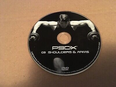 P90x Shoulders Arms Replacement DVD Disc Only Barely Used