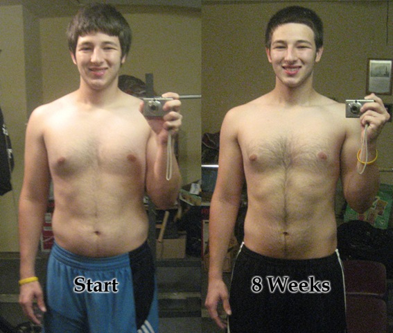 P90X Two Month Results Protein Machine