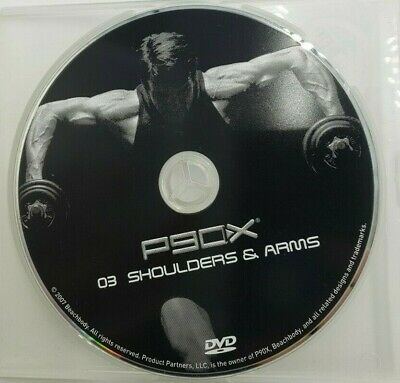 P90X Workout Disc 3 Shoulders Arms DVD 2007 Used EBay