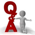 Question And Answer Q A Sign And 3d Character As Symbol