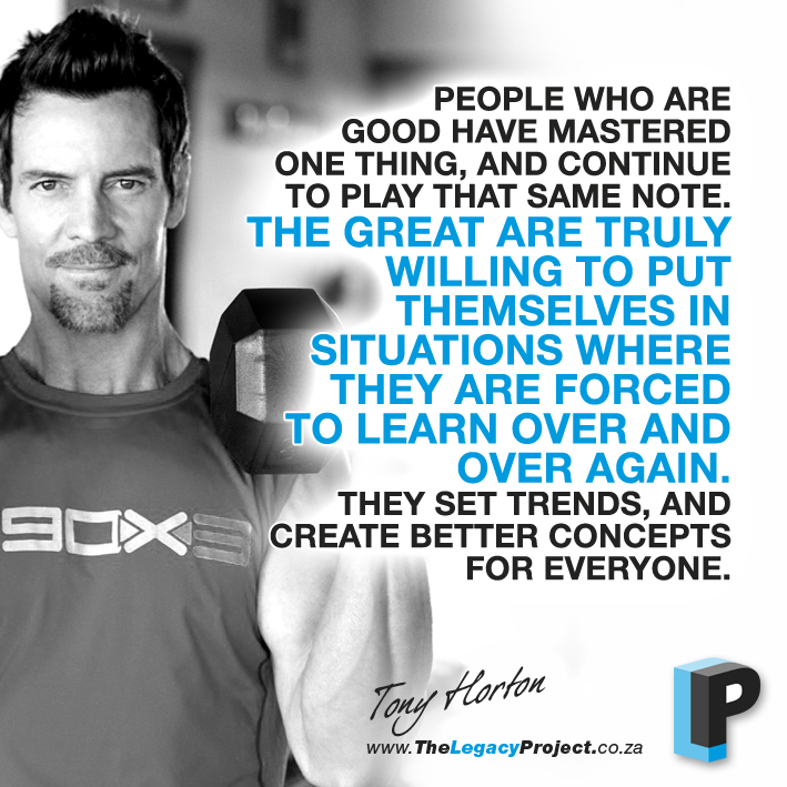 Quotes From Tony Horton P90x QuotesGram