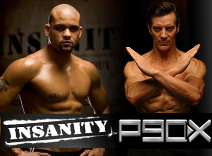 Steel Cage Face to Face Insanity Vs P90x Match Basic