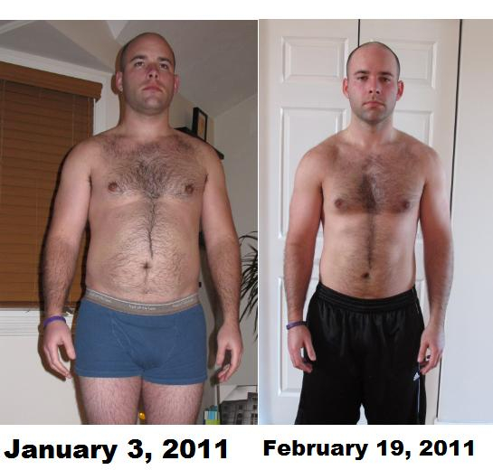 Stubborn Fellah P90X Results 1 Month Later
