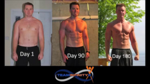 TeamInfinityX P90X Insanity Transformation Results