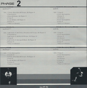 What Order Do You Do The P90X Workouts In Workout Journey